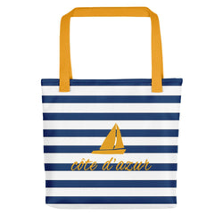 Côte d'Azur Tote bag - Tote bag from Paris France