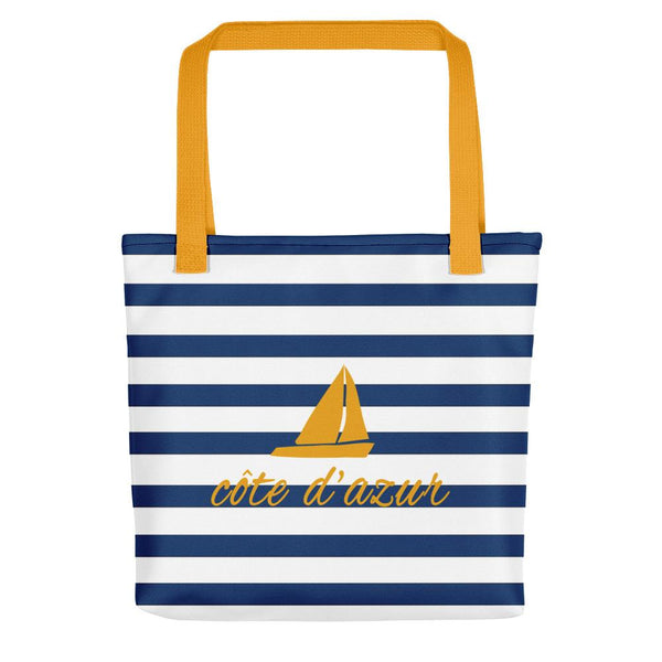 Côte d'Azur | Tote Bag - Tote bag from Ainsi Hardi Paris France