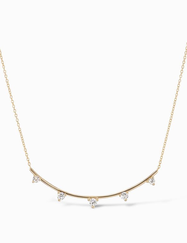 Diamond Ark Necklace