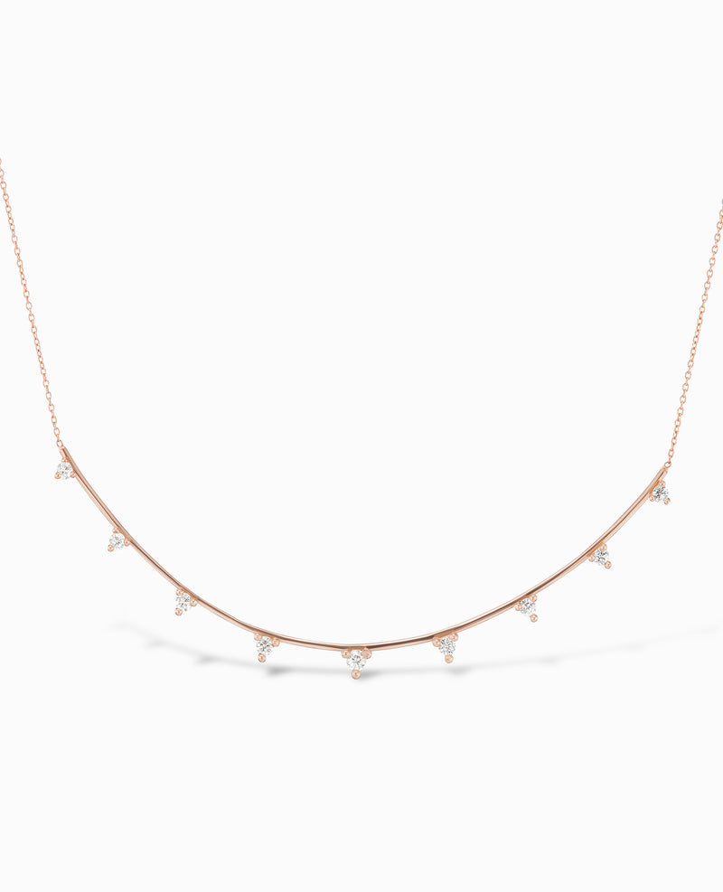 Full Diamond Ark Necklace