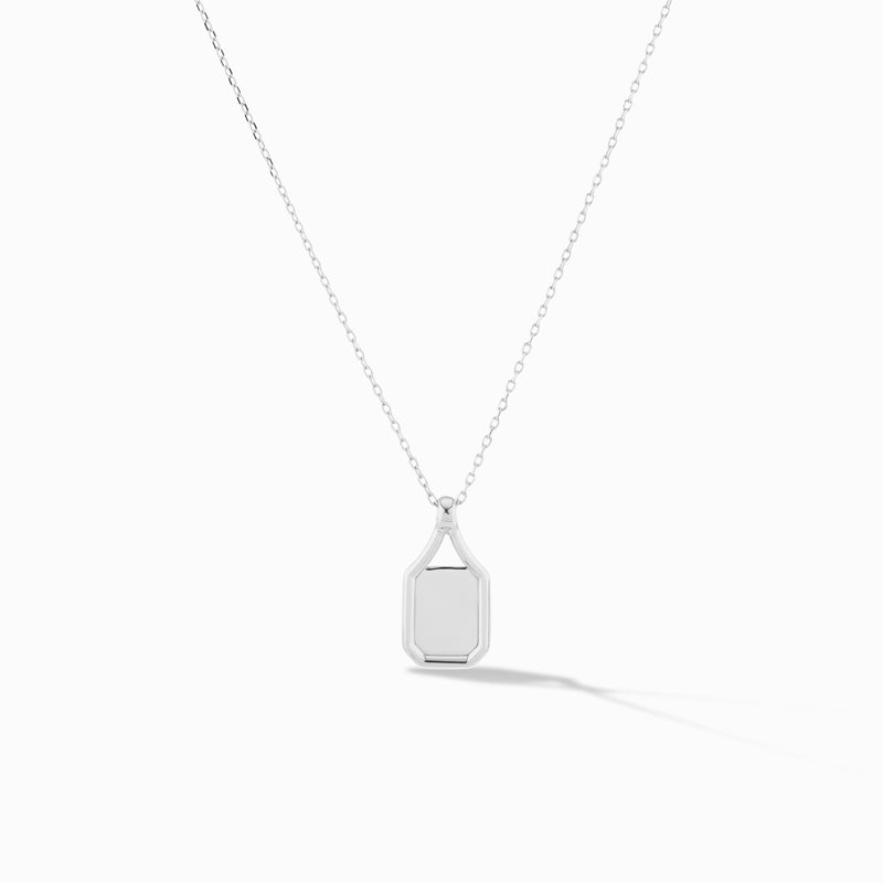 Squared Negative Space Pendant
