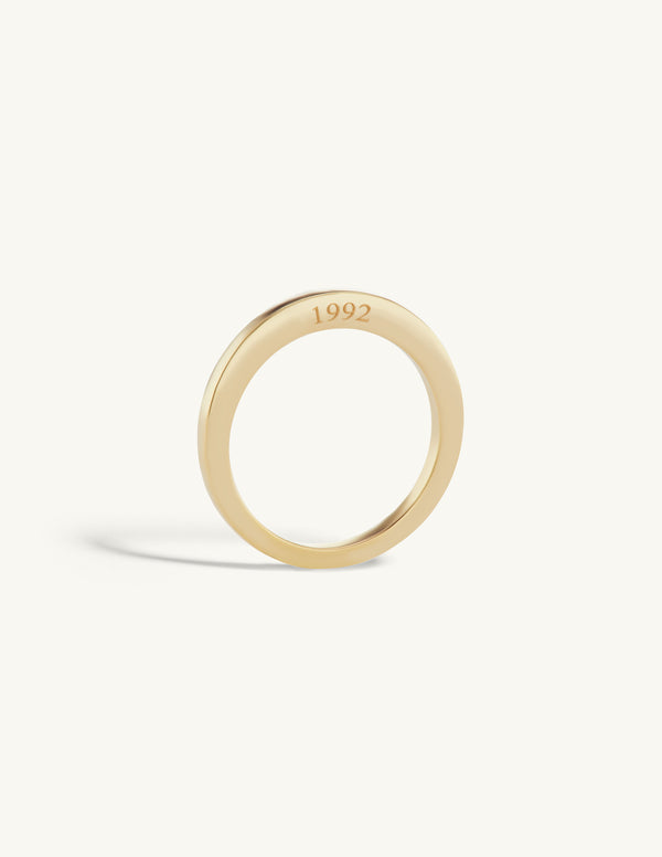 Lucky Number Signet Ring