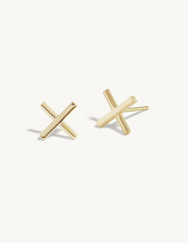 Two Diamond Twin Studs