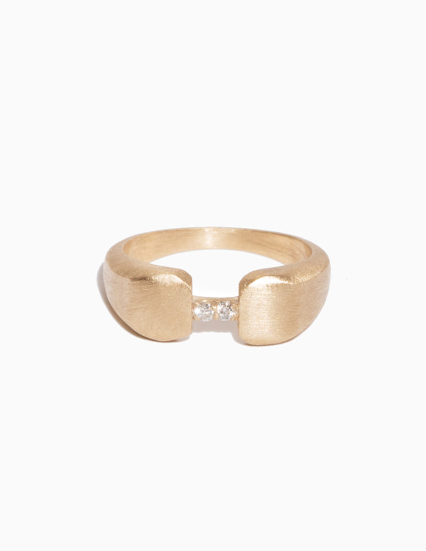Bridged Signet Ring