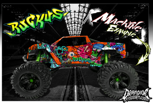Darkside Studio Arts Ruckus Graphics Wraps