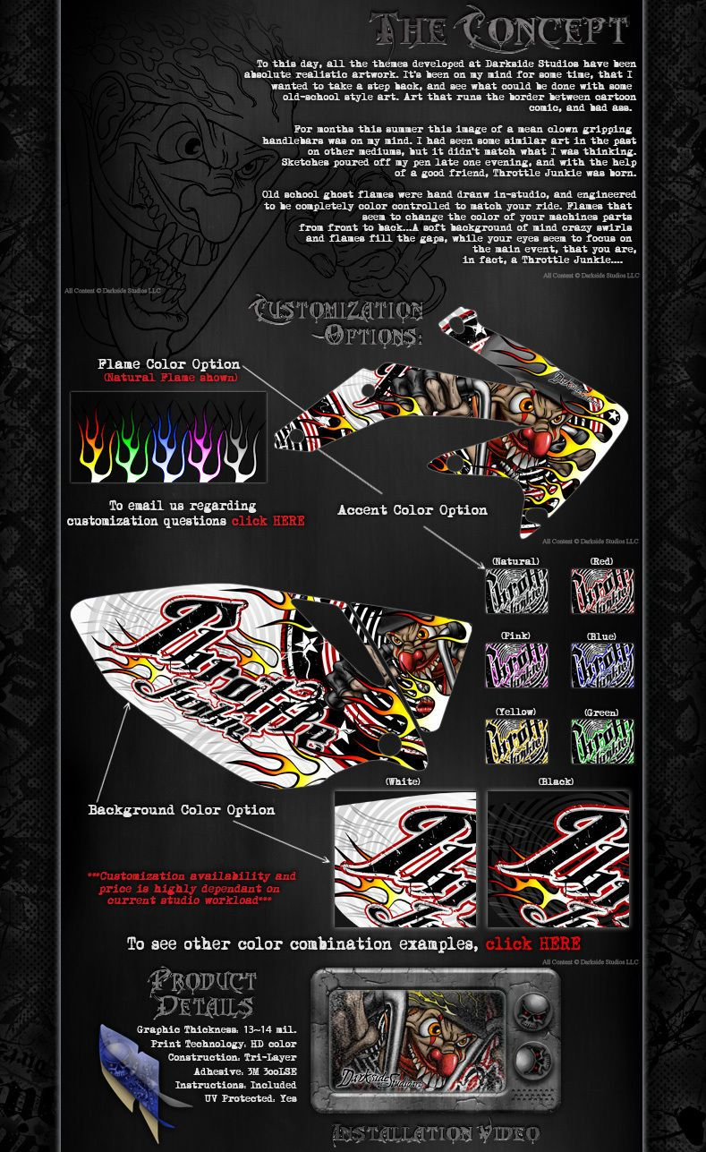 """TRAXXAS SPARTAN BOAT WRAP GRAPHICS KIT /""""TICKET TO RIDE/"""" FITS OEM HULL /& PARTS"""