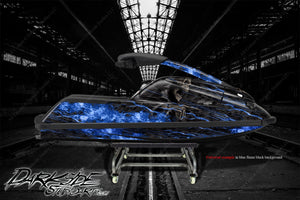 YAMAHA SUPERJET 700 2002-2019 JETSKI WATERCRAFT DECALS WRAP GRAPHICS KIT 'HELL RIDE' - Darkside Studio Arts LLC.