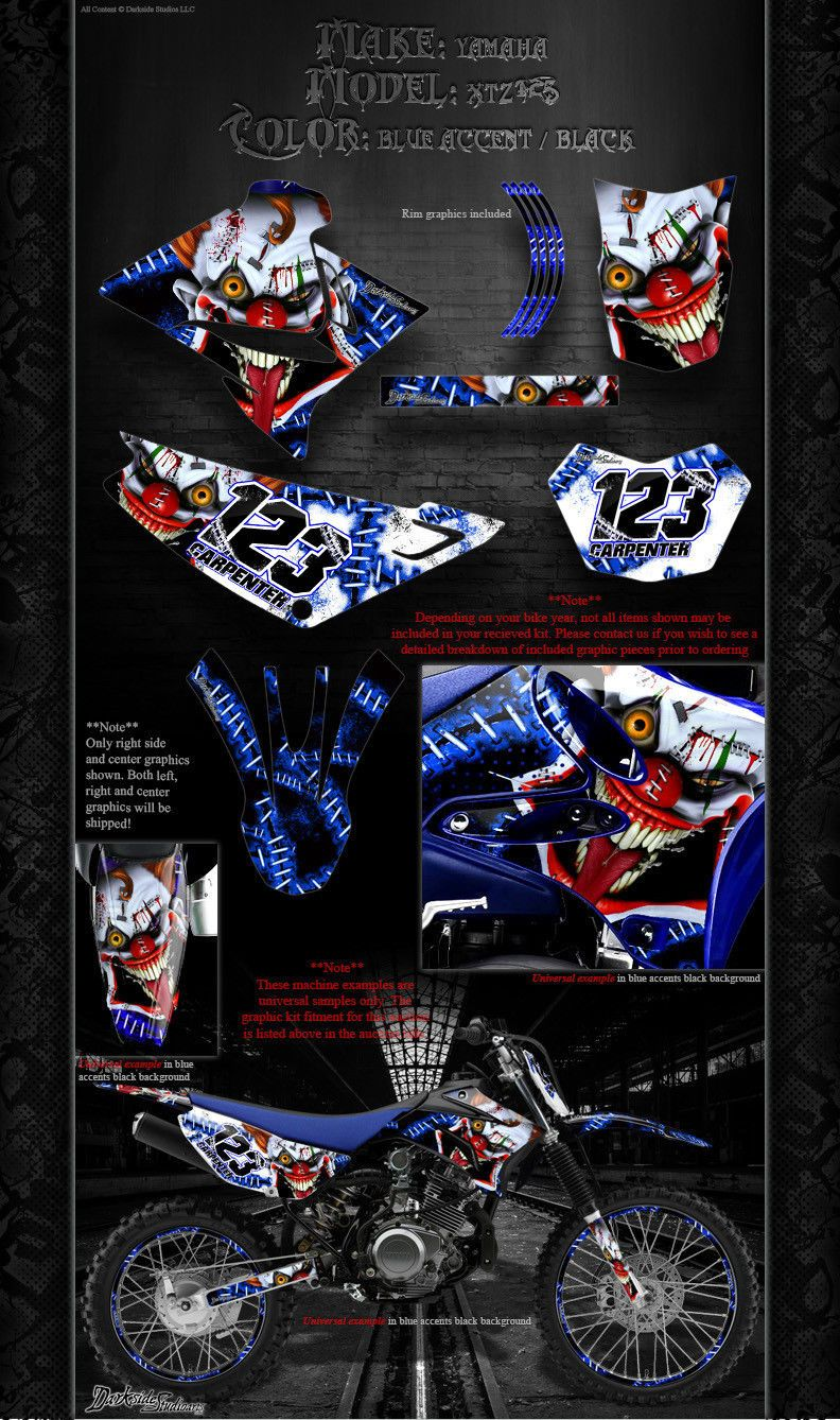 Yamaha Xtz 125 Graphics