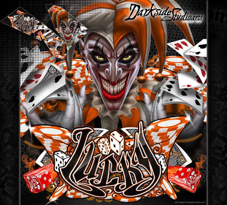 """LUCKY"" GRAPHICS DECALS WRAP FITS KTM 2003-2018 SX85 SX105 KTM85 - Darkside Studio Arts LLC."