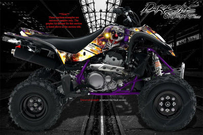 SUZUKI LTZ400 Z400 2003-2019 WRAP DECAL GRAPHIC SET KIT 'PYRO'