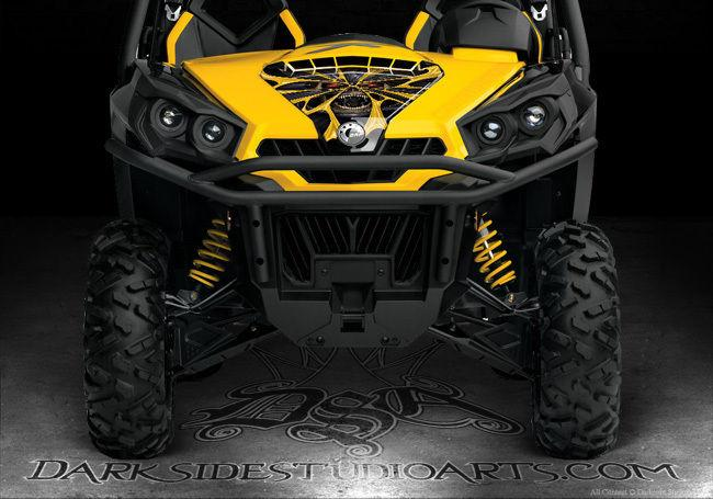 """CAN-AM COMMANDER LTD LIMITED EDITION 1000 HOOD /& TAILGATE GRAPHICS /""""THE OUTLAW/"""""""