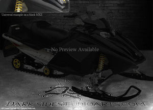 "SKI-DOO 2003-07 MXZ REV BLACK HOOD GRAPHICS KIT ""THE JESTERS GRIN"" M-XZ RENEGADE - Darkside Studio Arts LLC."