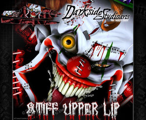 BLOWSION RICKTER XFS JETSKI DECALS WRAP GRAPHICS KIT 'STIFF UPPER LIP' - Darkside Studio Arts LLC.
