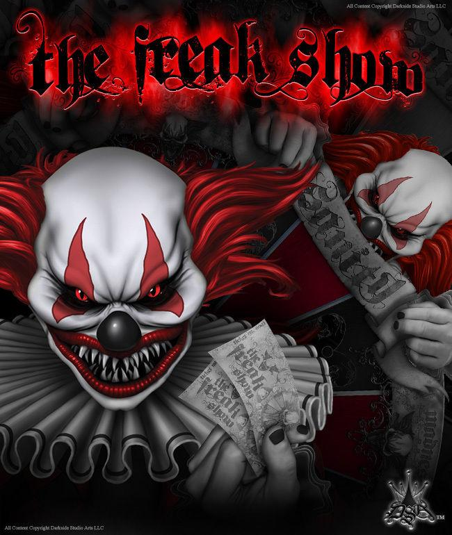 The Freak Show' Graphics Wraps Skins and decals by Darkside