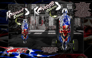 LOSI DESERT BUGGY XL / XL-E / XL-E 2.0 'RIPPER' CHASSIS SKIN PROTECTION WRAP - Darkside Studio Arts LLC.