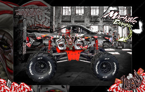 "PRIMAL RC RAMINATOR MONSTER TRUCK WRAP ""LUCKY"" GRAPHICS HOP-UP DECAL KIT - Darkside Studio Arts LLC."
