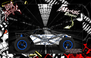 LOSI 8IGHT-T 8IGHT-E SUPER BAJA REY BODY GRAPHIC ACCENT SKIN KIT HOP UP PARTS - Darkside Studio Arts LLC.