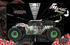 LOSI SUPER BAJA REY / SUPER ROCK REY WRAP DECAL KIT 'LUCKY' FITS LOS250035 / LOS350002 - Darkside Studio Arts LLC.