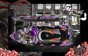 "PRO BOAT VELES IMPULSE SHOCKWAVE SONICWAKE 36"" ZELOS 36"" (MISS GEICO) BOAT CUSTOM WRAP DECAL GRAPHICS KIT 'LUCKY' - Darkside Studio Arts LLC."