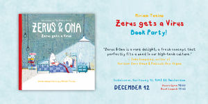 You're Invited to the Zerus gets a Virus Book Party