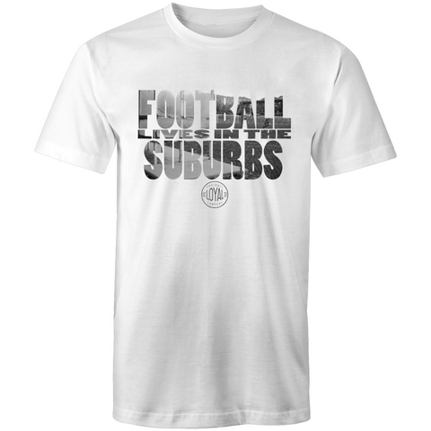 Matchday Four Adults T-Shirt - Football Lives in the Suburbs