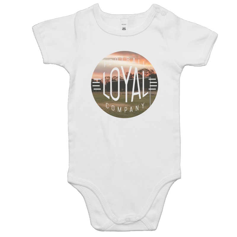 Summer Sunset Baby Onesie