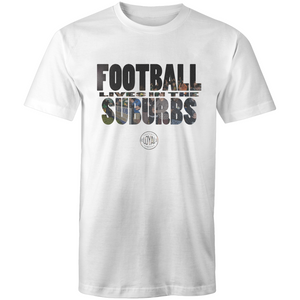 Matchday Two Adults T-Shirt - Football Lives in the Suburbs