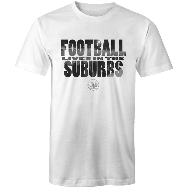 Matchday Three Adults T-Shirt - Football Lives in the Suburbs