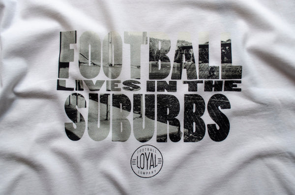 Matchday Four Womens T-Shirt - Football Lives in the Suburbs