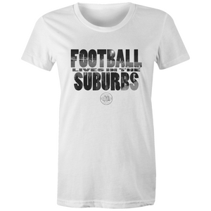Matchday Three Womens T-Shirt - Football Lives in the Suburbs