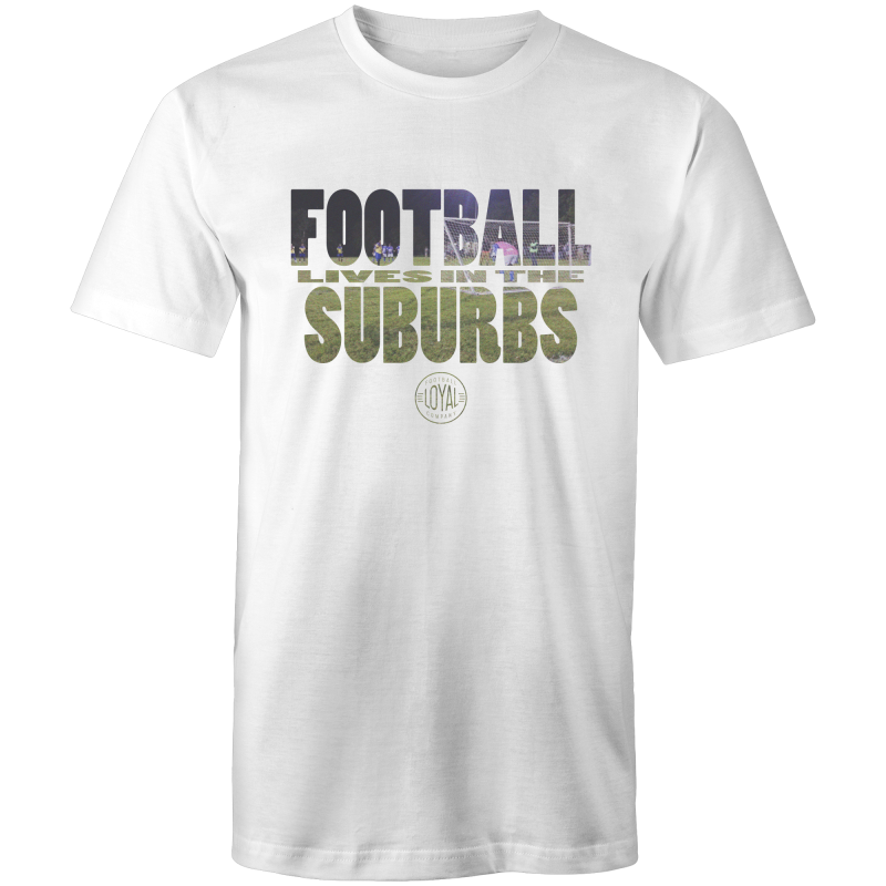 Matchday One Adults T-Shirt - Football Lives in the Suburbs