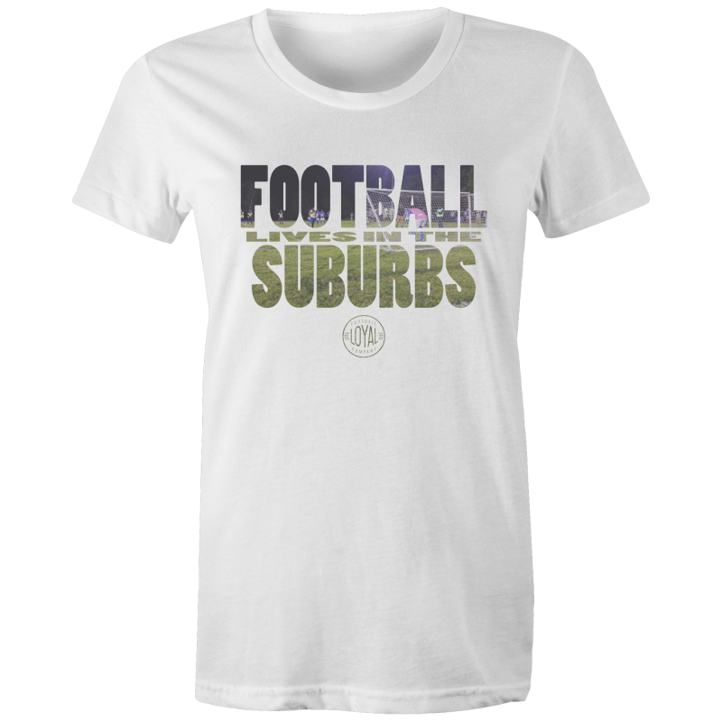 Matchday One Womens T-Shirt - Football Lives in the Suburbs