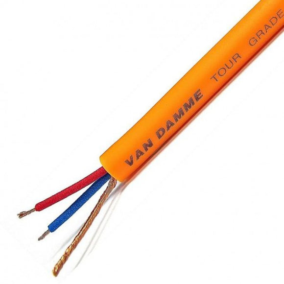 Van Damme Tour Grade Classic XKE Microphone Cable, Orange (per meter)