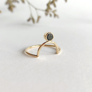 Daedal 14k Gold Filled Caro Ring