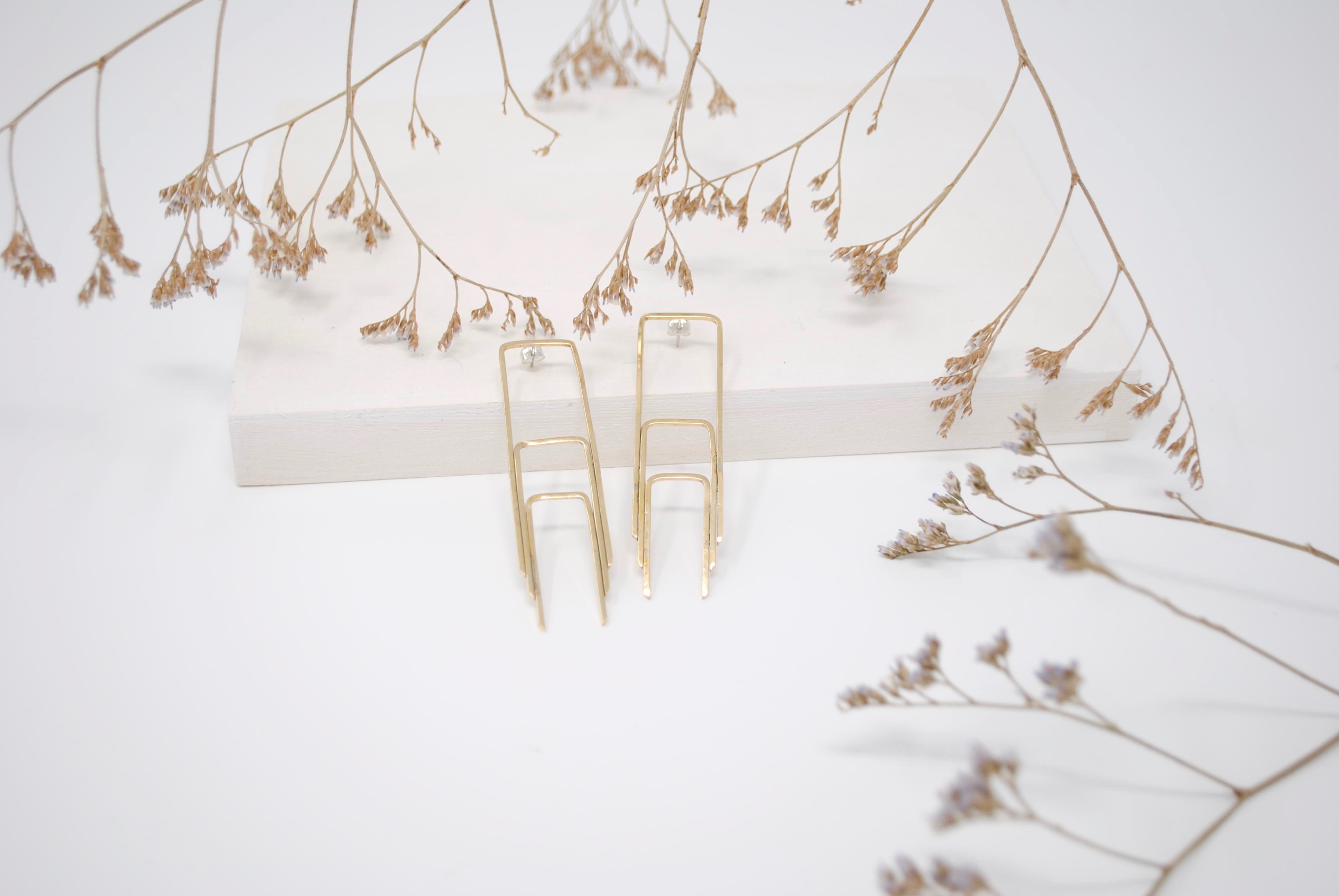 Daedal Art Deco Earrings