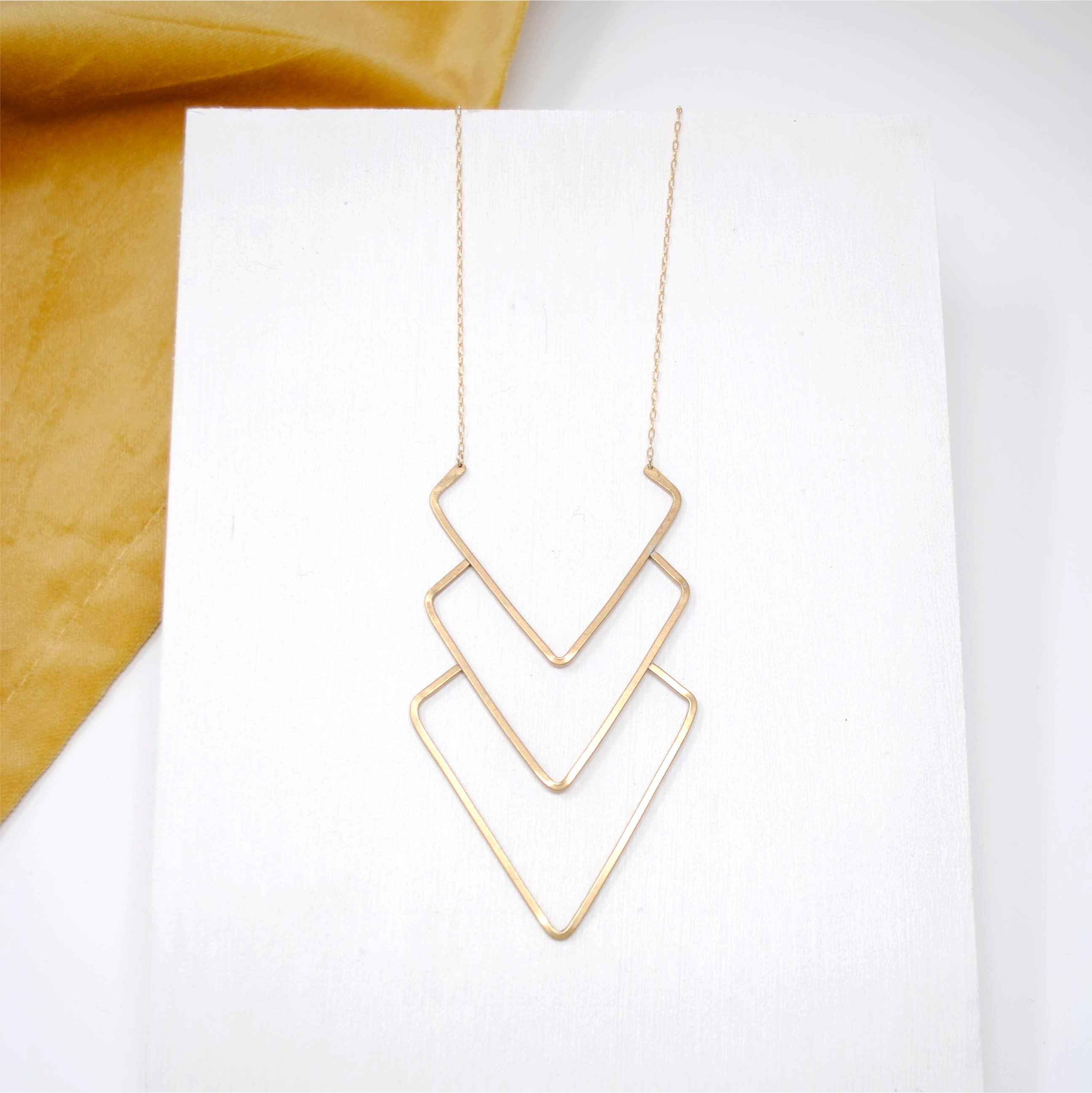 Daedal Lifted Layered Necklace