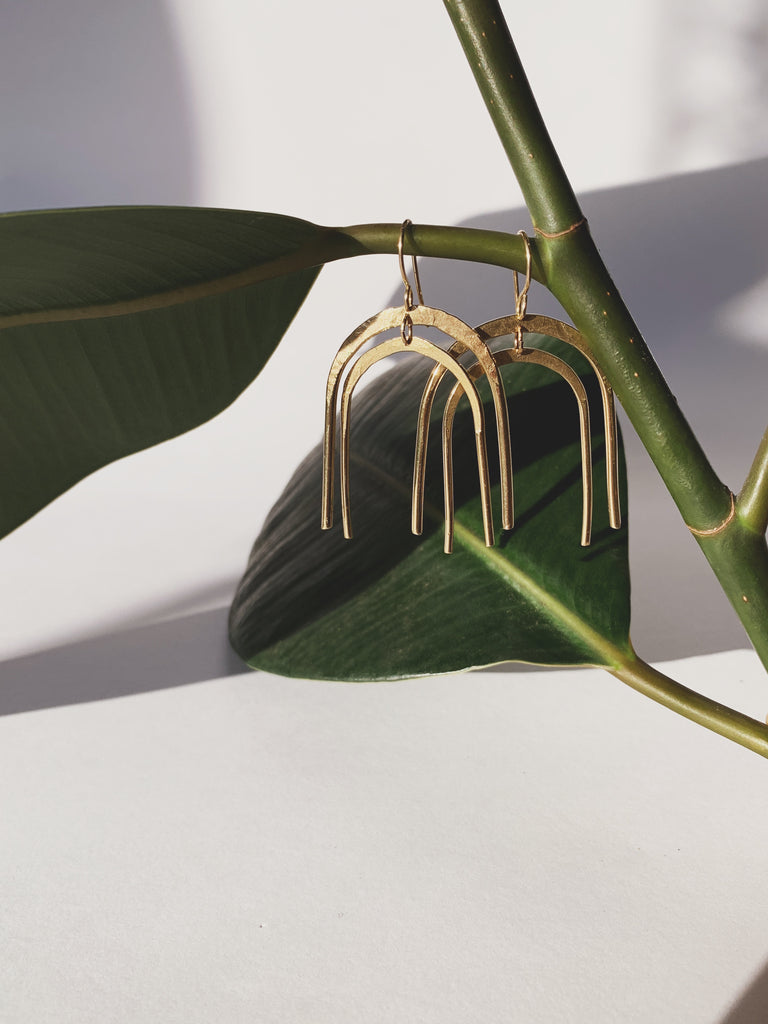 Daedal Rain Earrings