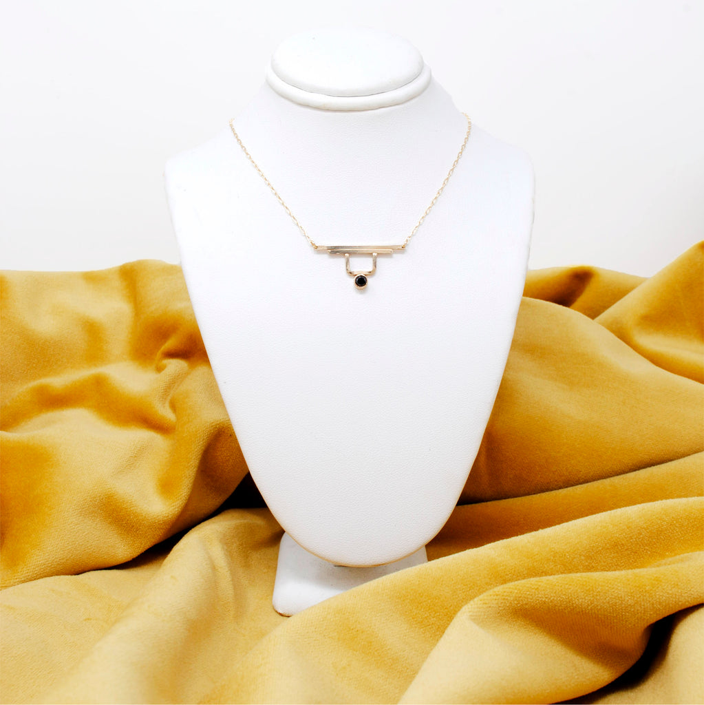 Daedal Ridge Gold Filled Necklace