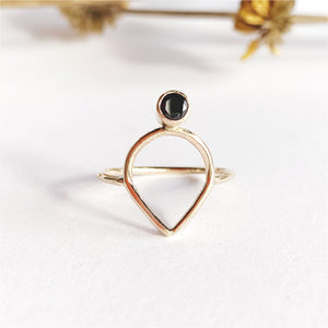 Daedal 14k Gold Filled Selene Ring