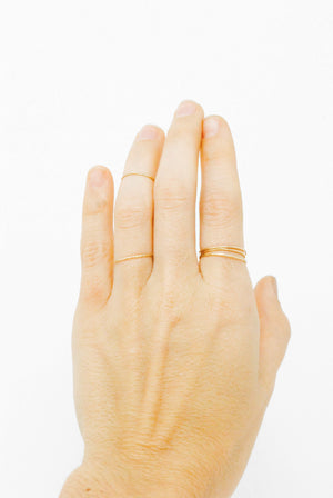 Daedal 14k Gold Filled Stacking Rings