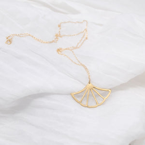 Daedal Ginkgo Necklace