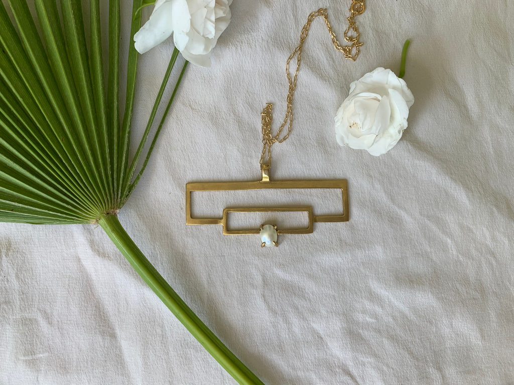 Daedal Lloyd Wright Necklace