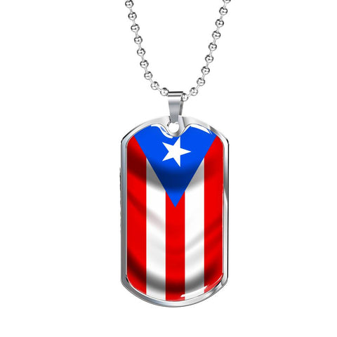Image of Puerto Rico - Dog Tag Jewelry