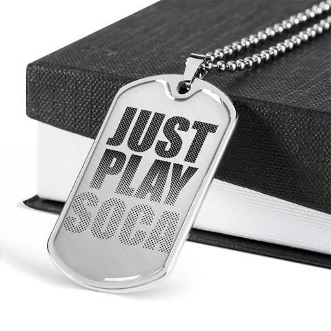 Image of Just Play Soca - Dog Tag Jewelry