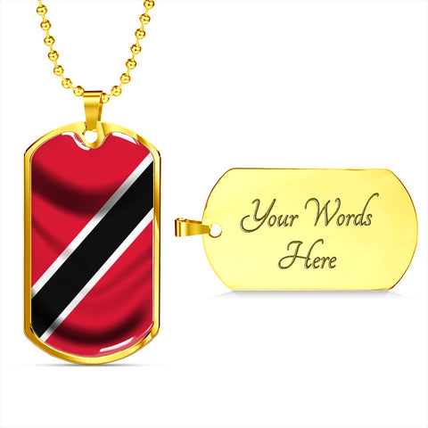 Image of Trinidad Flag - Dog Tag Jewelry