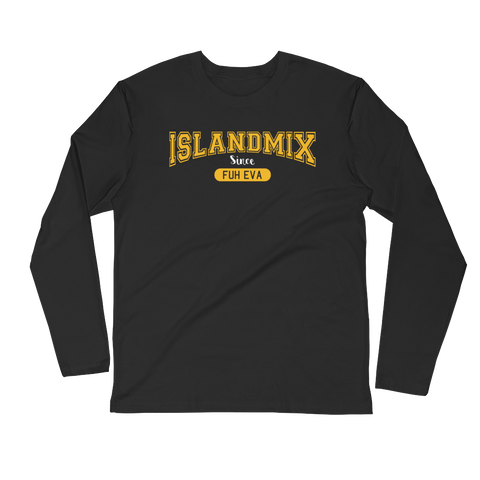IslandMix Fuh Eva - Long Sleeve Fitted Crew