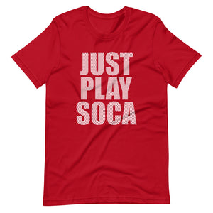 Just Play Soca - Unisex Diamond White Print Pattern