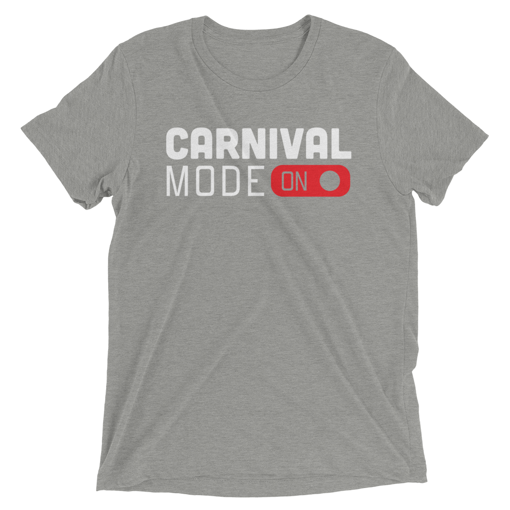 Carnival Mode On - Short Sleeve T-Shirt