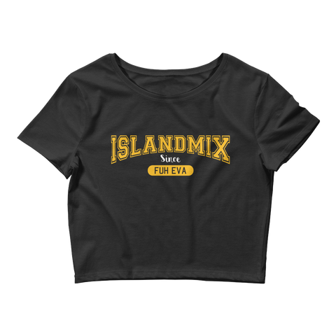 IslandMix Fuh Eva - Ladies Crop Top