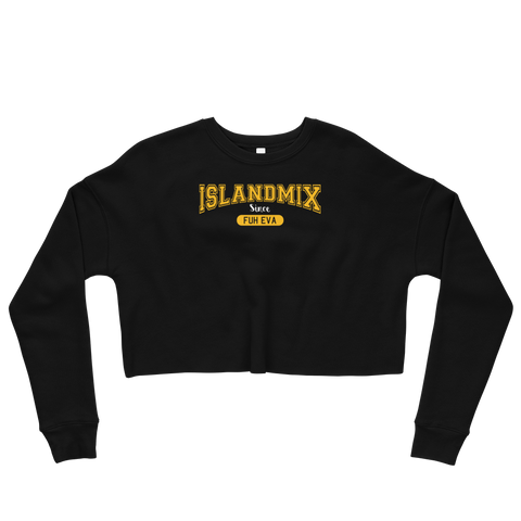 IslandMix Fuh Eva - Ladies Crop Sweatshirt